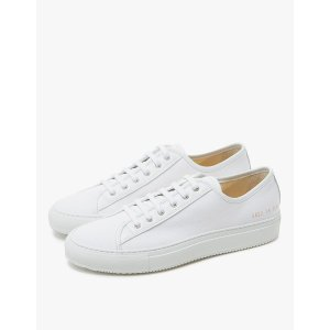 Woman by Common Projects Tournament Low in White Canvas