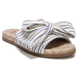 Women's Sam & Libby Neveda Slide Sandals with a Bow : Target