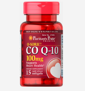 $1.99Puritan's Pride Q-SORB™ Co Q-10 100 mg, 15 Softgels