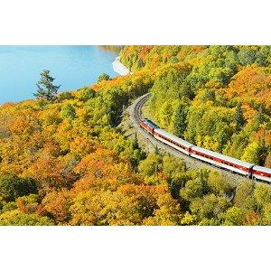 【限量】加东赏枫列车•绝景体验5天:亚加华峡谷+苏珊玛丽+瀑布