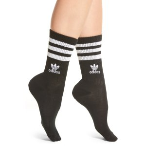 adidas 3-Stripes Crew Socks