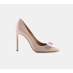 Salvatore Ferragamo Emy 100 Patent Vara Bow Pump Pumps | ELEVTD Free Shipping & Returns