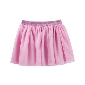Double Layer Tulle Skirt