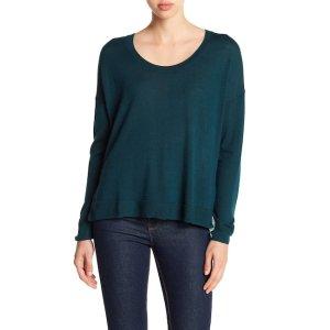 Long Sleeve Merino Wool Pullover