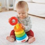 Fisher-Price 彩虹层层叠套圈玩具