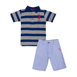 Boys 2 Piece Polo Shirt with Short - U.S. Polo Assn.