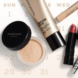 Up to $20 OffSitewide @ Bare Minerals