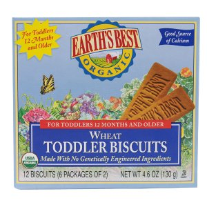 Earth's Best Organic Wheat Toddler Biscuits -- 4.6 oz - Vitacost