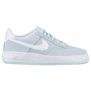 Nike Air Force 1 Low '06 - Girls' Grade School - Basketball - Shoes - Glacier Blue/White