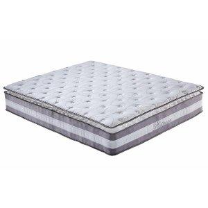 Vento Pillow Top Hybrid Memory Spring Mattress | Sofamania.com