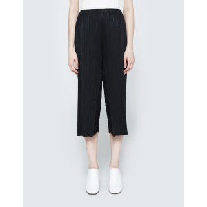 Pleats Please by Issey Miyake Pants in Black