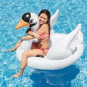 $7.54Intex Swan Inflatable Ride-On, 51