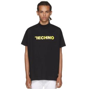 Alyx: SSENSE Exclusive Black 'Techno' T-Shirt