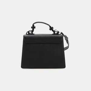Kendall & Kylie Lips Leather Top Handle Purse Handbags | ELEVTD Free Shipping & Returns