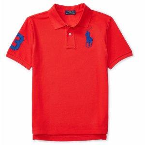 Cotton Mesh Polo Shirt - Short Sleeve � Polo Shirts - RalphLauren.com