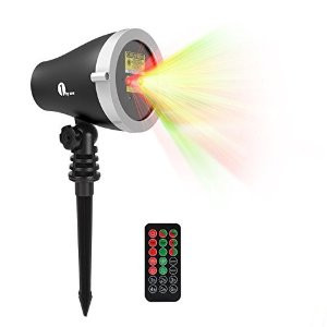 Today Only: $411byone Aluminum Alloy Outdoor Laser Christmas Light Projector