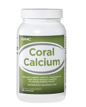 $8.99,史低价!易被吸收!GNC 珊瑚钙 180粒