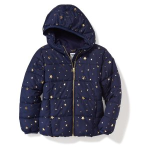 Hooded Frost-Free Jacket for Girls
