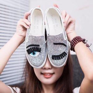 低至5.1折  上新码全 收可爱眨眼平底鞋Saks Off 5th 精选 Chiara Ferragni 女士美鞋双肩包热卖