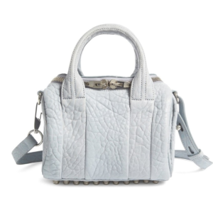 Alexander Wang Mini Rockie Pebbled Leather Crossbody Satchel