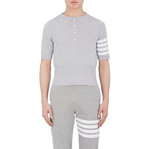 Thom Browne Cotton Trompe L'Oeil Polo Shirt | Barneys New York