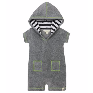 Knit Terry Hooded Shortall