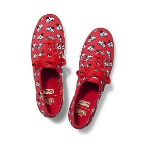 Women - KEDS X MINNIE MOUSE CHAMPION - Red Print Canvas | Keds