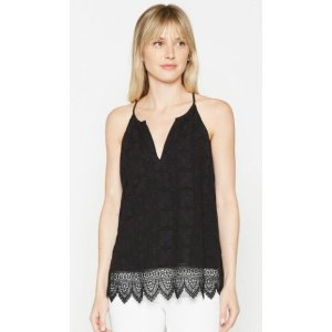 Women's Ember Lace Top made of Silk