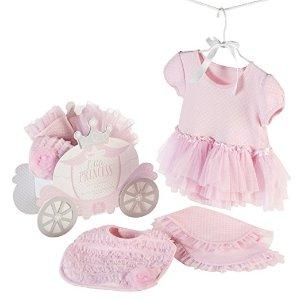 Amazon.com: Baby Aspen Little Princess 3 Piece Gift Set, Pink: Baby