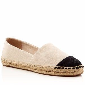 Tory Burch Color Block Espadrille Flats | Bloomingdale's