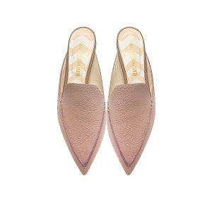 Nicholas Kirkwood Beya Lilac Pink Tumbled Leather Loafer