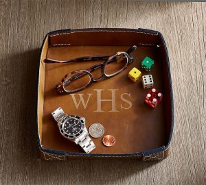 BECKETT LEATHER CATCHALL