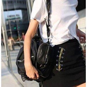 Alexander Wang Mini Marti Convertible Leather Backpack