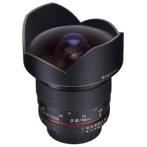Samyang 14mm f/2.8 IF ED UMC Manual Focus Lens for Nikon with Focus Confirm Chip SY14MAE-N