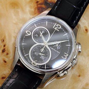 $319 (Orig $745)Hamilton Men's Jazzmaster Chrono Quartz Watch Model: H32372735