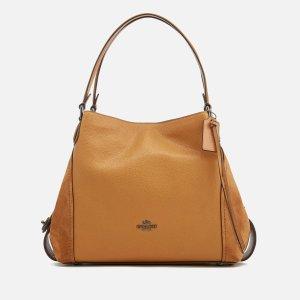 Coach Women's Edie 31 Shoulder Bag - Caramel - Free UK Delivery over £50