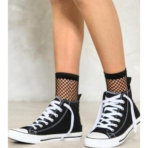 Diamond in the Rouge Fishnet Socks | Shop Clothes at Nasty Gal!