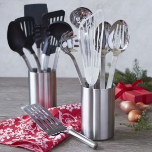 Sur La Table Stainless Steel Tools with Caddy, Set of 7 | Sur La Table