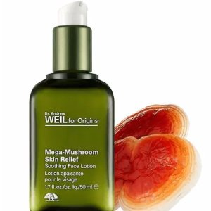 Dealmoon Exclusive! $20 off $45 + free gift Dr. Weil Kit With MEGA-MUSHROOM SKIN RELIEF SOOTHING FACE LOTION purchase @ Origins
