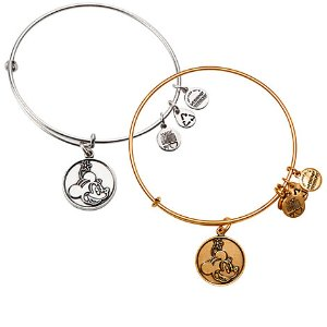 Minnie Mouse Bangle by Alex and Ani | Disney Store