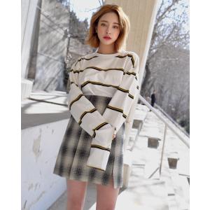 러브코 음영체크 미니트임 SK | 韩国女装NO.1网店 STYLENANDA 中文官网