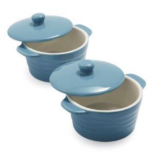 Stoneware Mini Cocottes, Set of 2 | Sur La Table
