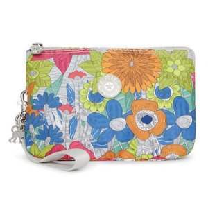 Creativity XL Printed Pouch - Floral Carnation