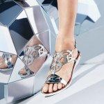 Stuart Weitzman Gelfisher Jelly Sandals