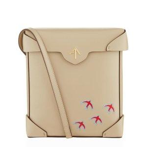 Manu Atelier Pristine Bird Shoulder Bag