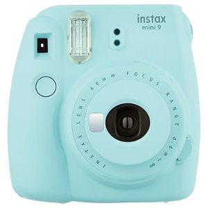 Instax Mini 9 Instant Camera Ice Blue | Staples®