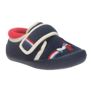 Shilo Jake First Navy Synthetic - Kids' Slippers - Clarks® Shoes Official Site
