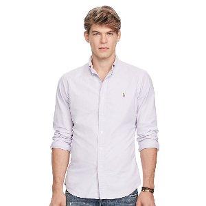 Cotton Oxford Sport Shirt - Standard Fit � Casual Shirts - RalphLauren.com