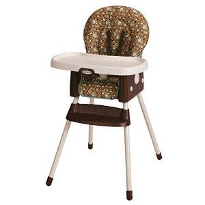 $39.88(原价$79.99)史低价!补货啦!Graco SimpleSwitch 二合一儿童高脚餐椅