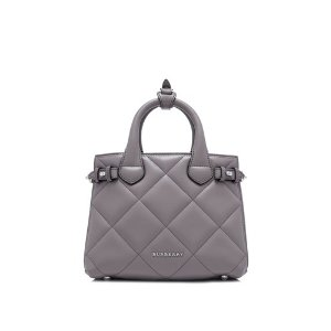 Burberry Quilted Leather Baby Banner Tote